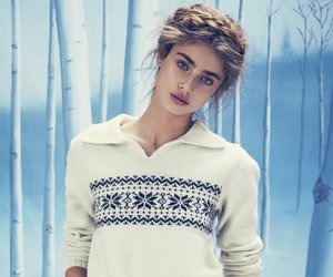 model, taylor hill, and winter image