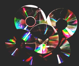 arcoiris, cd, and colores image