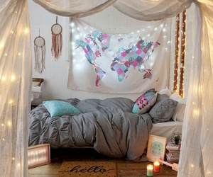 bedroom, room goals, and dream room image
