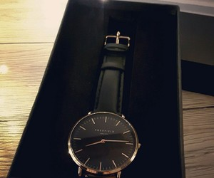 black, gift, and watch image