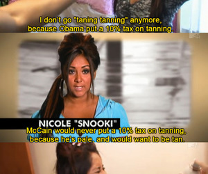 jersey shore, snooki, and funny image