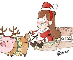 gravity falls and christmas image