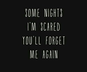 quotes, forget, and night image
