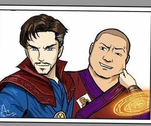 fanart, funny, and Marvel image