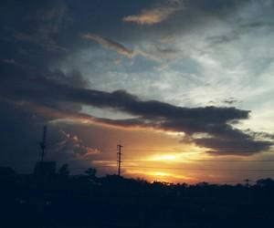 sunset journey image
