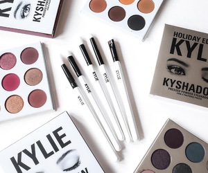 Brushes, makeup, and kylie cosmetics image