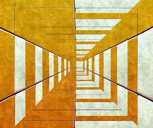 abstract, abstract art, and yellow image