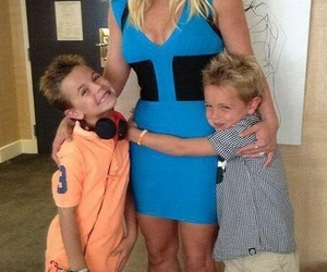 britney spears, jayden james spears, and sean preston spears image