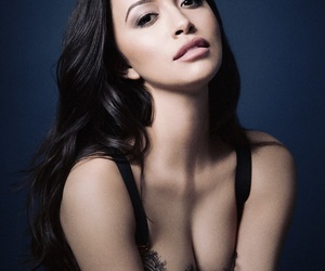 christian serratos, twd, and kish serratos image