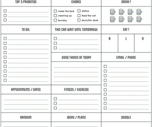inspiration, organise, and plan image