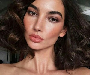 beauty, Lily Aldridge, and fashion image