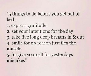 quote, morning, and morning routine image