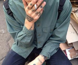 tattoo, boy, and grunge image