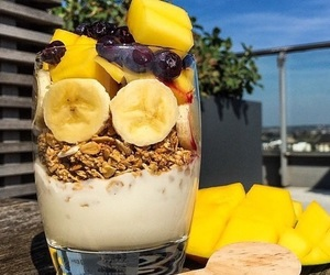 breakfast, fitness, and fitspo image