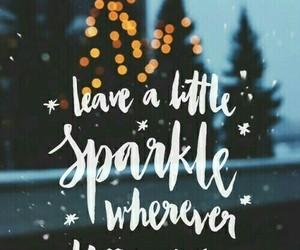 christmas, wallpaper, and sparkle image