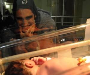 baby, boys, and newborn image