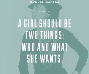quotes, coco chanel, and girl power image