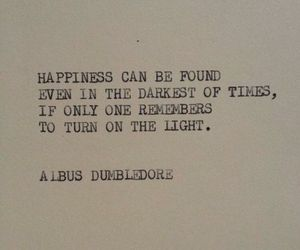 albus dumbledore, quote, and harry potter image