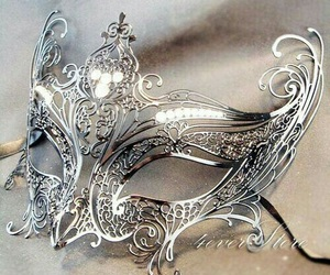 mask and silver image
