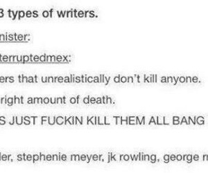 jk rowling, writer, and george rr martin image