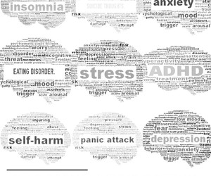 anxiety, depression, and disease image