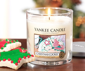 christmas, candle, and yankee candle image