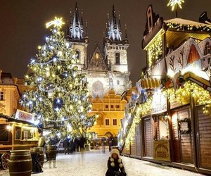 christmas, xmas, and snow image