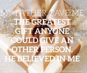 easel, gift, and believe image