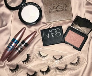 cosmetics, mac, and mascara image