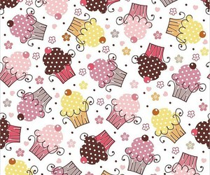 cupcake, background, and sweet image