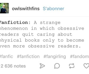 fandom, funny, and post image