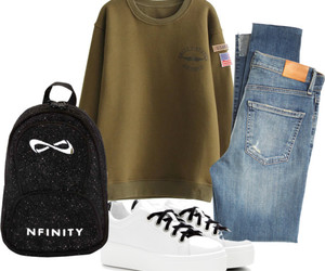 bag, jeans, and Kenzo image