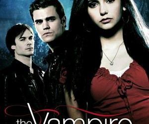 ian somerhalder, Nina Dobrev, and paul wesley image
