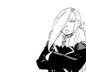 fullmetal alchemist and olivier mira armstrong image