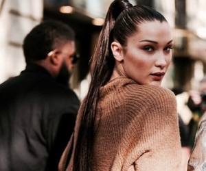 bella hadid, model, and style image