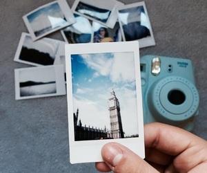 london, photo, and polaroid image