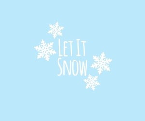 christmas, wallpaper, and let it snow image