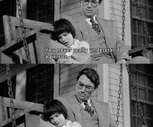 black and white, movie, and to kill a mockingbird image