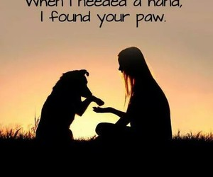 dog, best friends, and quote image