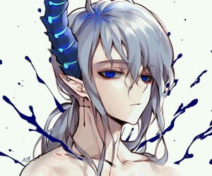 elsword and demon image