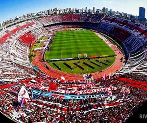 argentina, river plate, and el monumental image