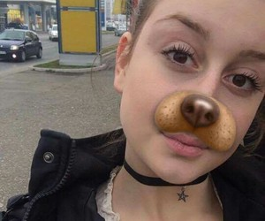 amazing, girl, and puppy image