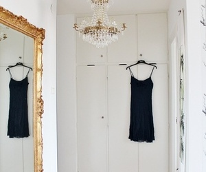 dress, luxury, and closet image