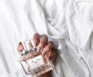 perfume, nails, and dior image
