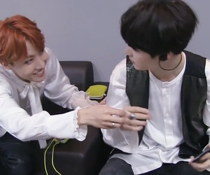 bts, sope, and jhope image