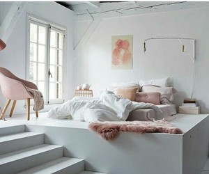 bedroom, grey, and home sweet home image