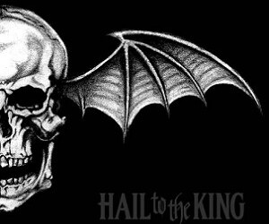 avenged sevenfold, a7x, and hail to the king image