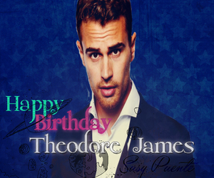 I Love You, happy bday, and theo james image