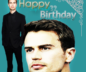 happy bday, theo james, and tobias eaton image