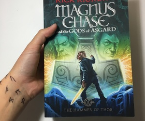 books, rick riordan, and the hammer of thor image